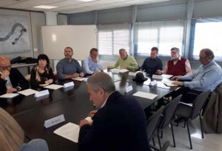 Participam a la reunió constitutiva del Consell d'Àrea de Model de Ciutat