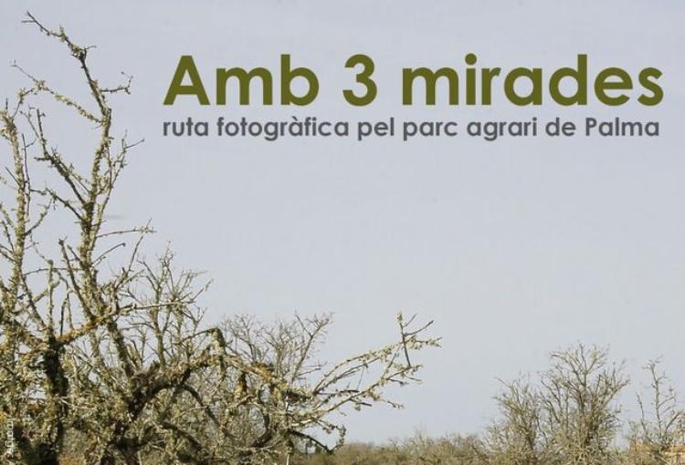 Amb 3 mirades: ruta fotogràfica pel parc agrari de Palma